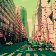 「blockage land」アルバムジャケット